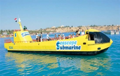Semi Submarine Tour in Hurghada