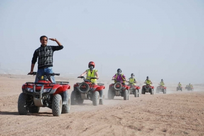 Quad Bike Tour in Sharm Desert from Sharm Port