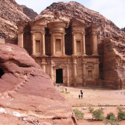Day Tour to Petra from Dahab by Ferry Boat